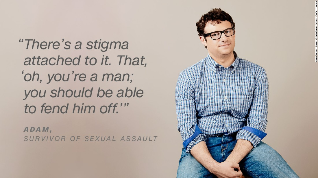 1 in 16 Men Will Experience Sexual Assault In College.  Here's How To Respond To Survivors Properly.
